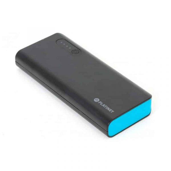 Bateria Externa Micro-Usb Power Bank 8000 MAh Platinet Azul 4
