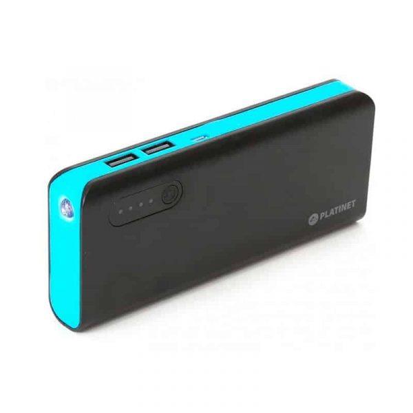 Bateria Externa Micro-Usb Power Bank 8000 MAh Platinet Azul 3