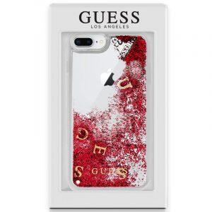 Carcasa iPhone 6 Plus / iPhone 7 Plus / 8 Plus Licencia Guess Liquid Rojo 5