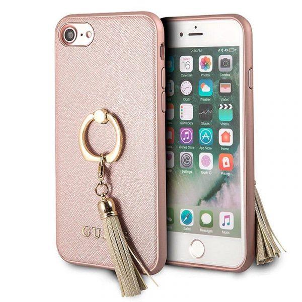 Carcasa iPhone 7 / iPhone 8 Licencia Guess Rosa 1