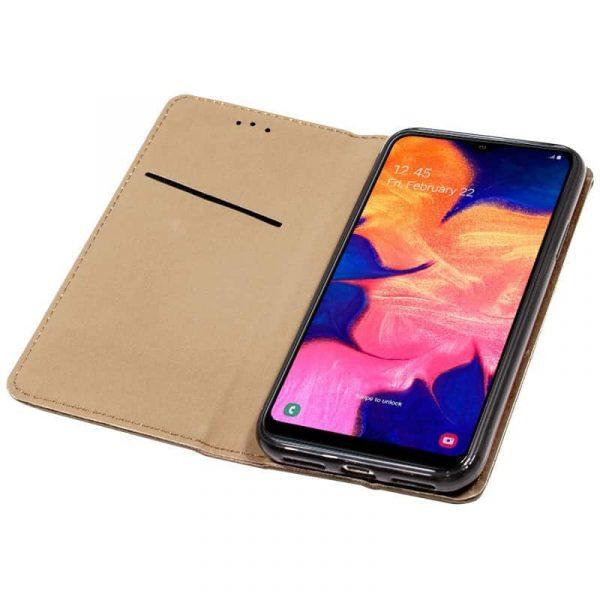 Funda Con Tapa Samsung Galaxy A10 Liso Beige 3