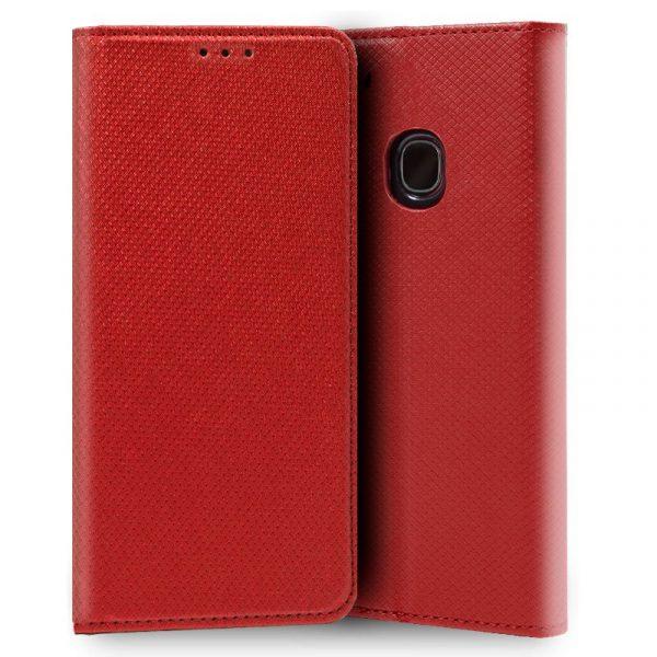 Funda Con Tapa Samsung Galaxy A20e Liso Rojo 1