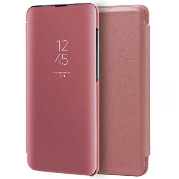Funda Con Tapa Xiaomi Mi A3 Clear View Rosa 1