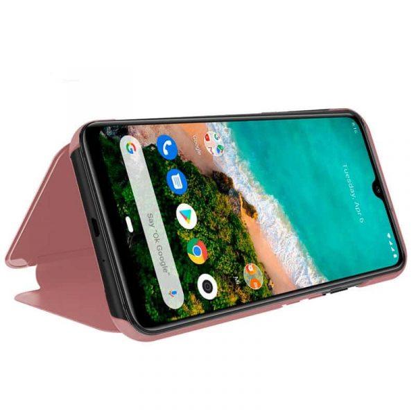 Funda Con Tapa Xiaomi Mi A3 Clear View Rosa 2