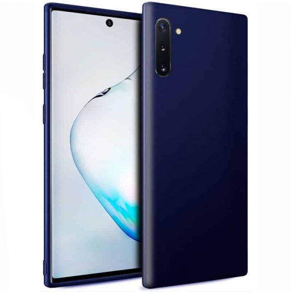Funda Silicona Samsung Galaxy Note 10 (Azul) 1