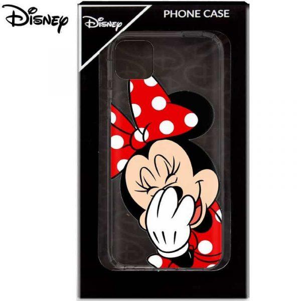 Carcasa iPhone 11 Licencia Disney Minnie Transparente 2