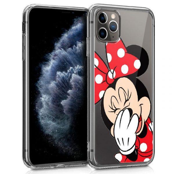 Carcasa iPhone 11 Pro Licencia Disney Minnie Transparente 1
