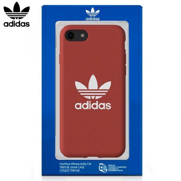 Carcasa iPhone 7 / 8 Licencia Adidas Tela Rojo 2
