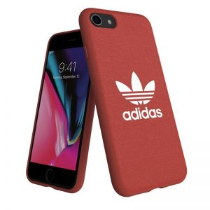 Carcasa iPhone 7 / 8 Licencia Adidas Tela Rojo 6