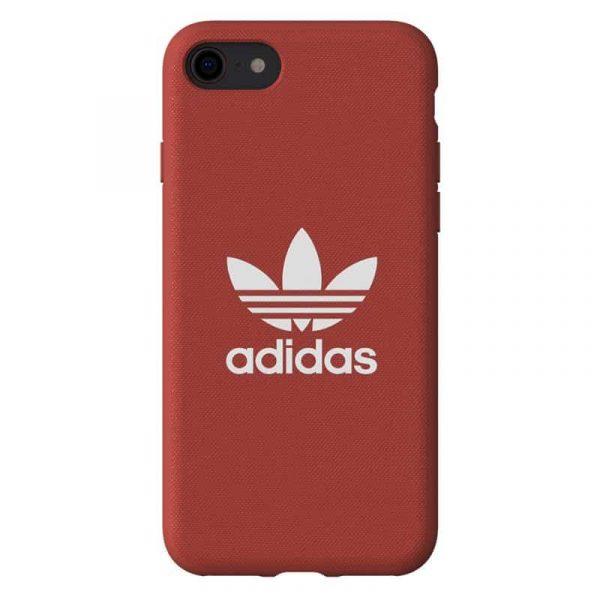 Carcasa iPhone 7 / 8 Licencia Adidas Tela Rojo 1