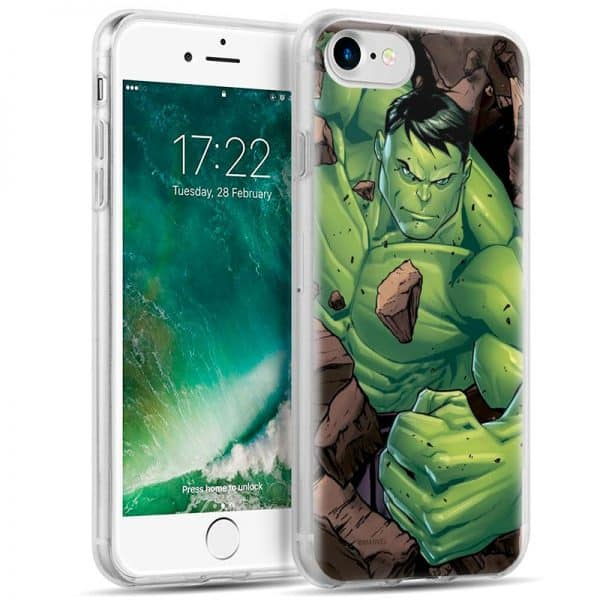 Carcasa iPhone 6 / 6s Licencia Marvel Hulk 1