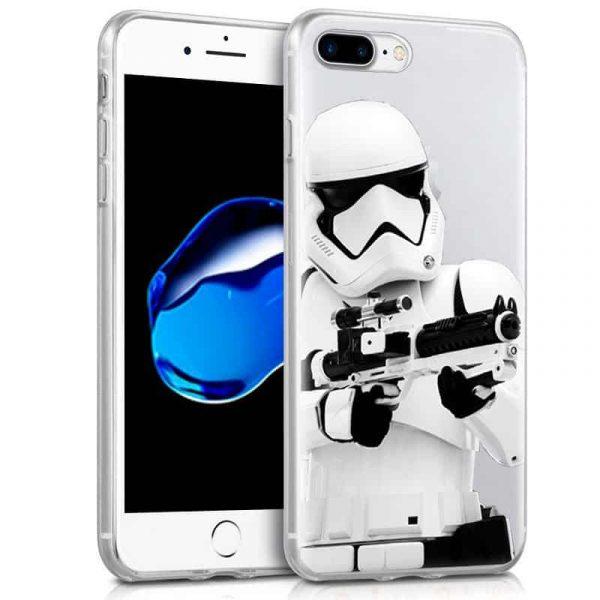 Carcasa iPhone 7 Plus / 8 Plus Licencia Star Wars Stormtrooper 1
