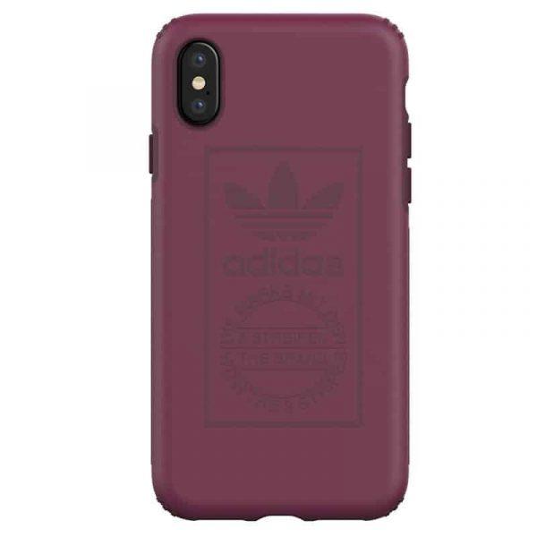 Carcasa iPhone X / iPhone XS Licencia Adidas Hard Violeta 1