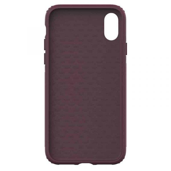 Carcasa iPhone X / iPhone XS Licencia Adidas Hard Violeta 2
