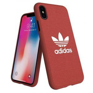 Carcasa iPhone X / iPhone XS Licencia Adidas Tela Rojo 6