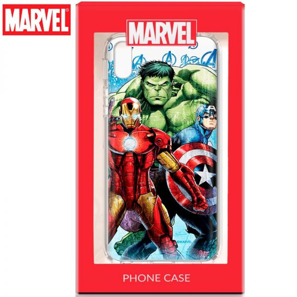 Carcasa iPhone X / iPhone XS Licencia Marvel Avengers 2