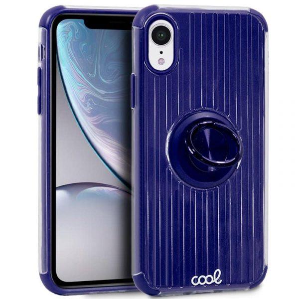 Carcasa iPhone XR Hard Anilla Azul 1
