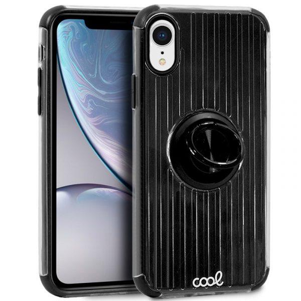 Carcasa iPhone XR Hard Anilla Negro 1