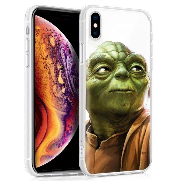 Carcasa iPhone XS Max Licencia Star Wars Yoda 1
