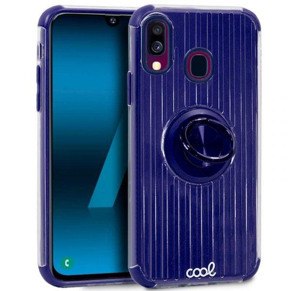 Carcasa Samsung Galaxy A40 Hard Anilla Azul 1