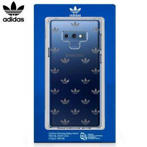 Carcasa Samsung Galaxy Note 9 Licencia Adidas Transparente 5