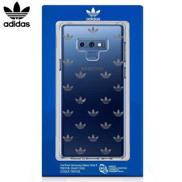 Carcasa Samsung Galaxy Note 9 Licencia Adidas Transparente 3