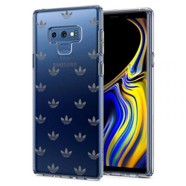 Carcasa Samsung Galaxy Note 9 Licencia Adidas Transparente 1