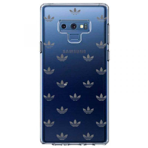 Carcasa Samsung Galaxy Note 9 Licencia Adidas Transparente 2
