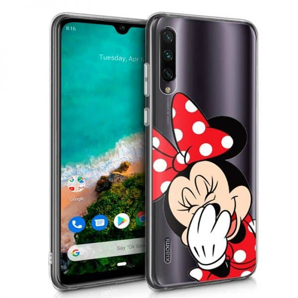 Carcasa Xiaomi Mi A3 Licencia Disney Minnie 1