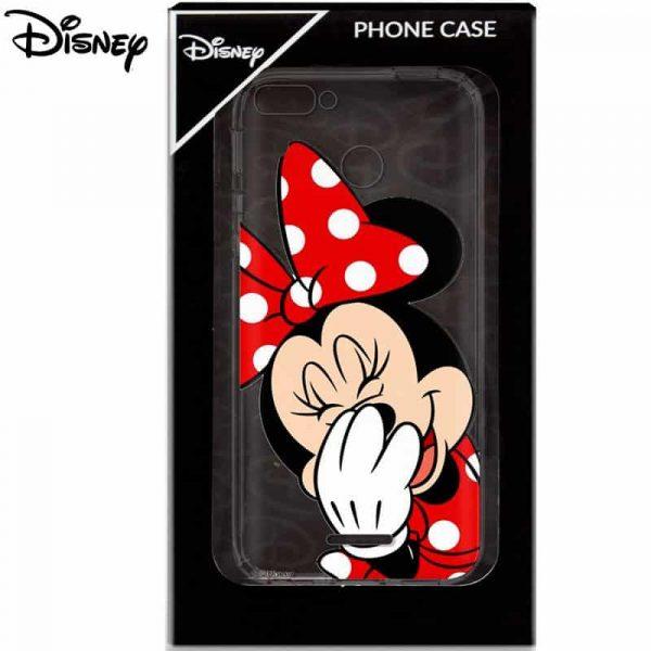 Carcasa Xiaomi Redmi 6 / 6A Licencia Disney Minnie 2