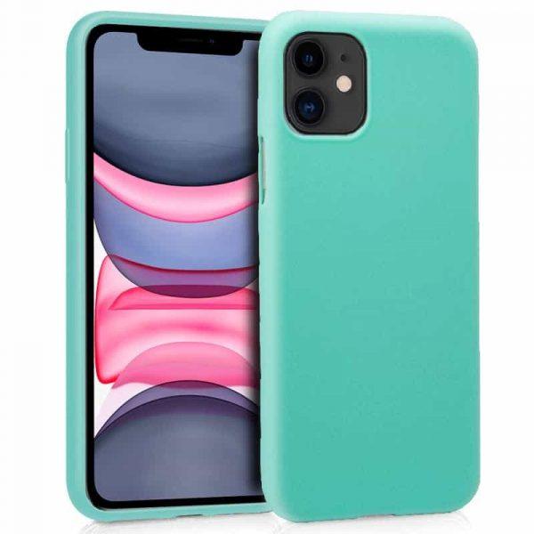 Funda Silicona iPhone 11 (Mint) 1