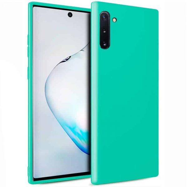 Funda Silicona Samsung Galaxy Note 10 (Mint) 1