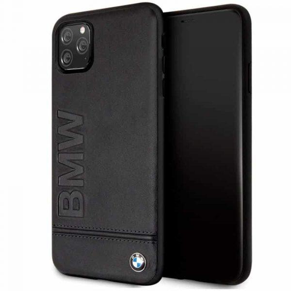 carcasa iphone 11 pro max licencia bmw piel negro1