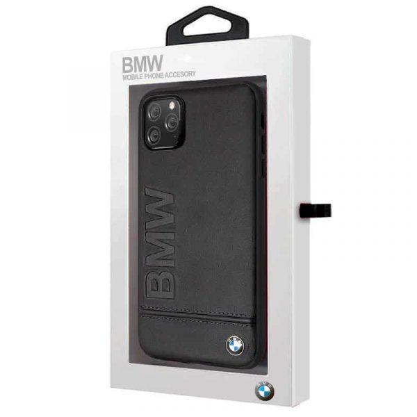 carcasa iphone 11 pro max licencia bmw piel negro2