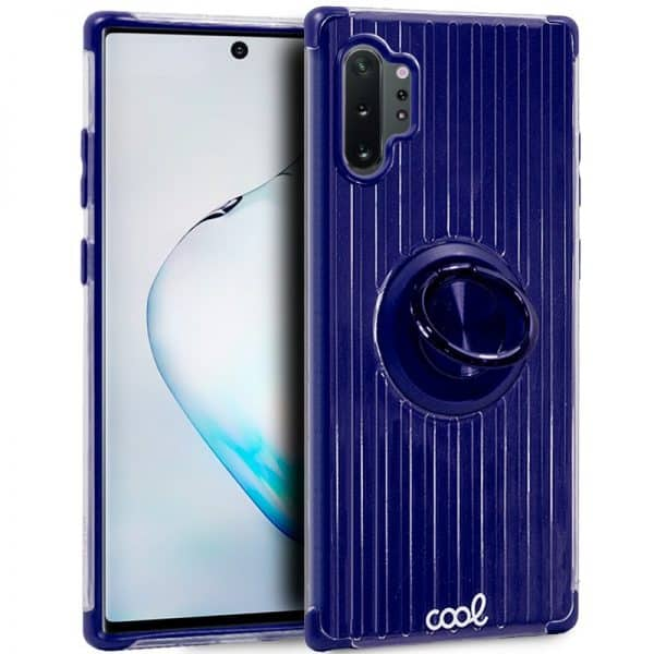 Carcasa Samsung Galaxy Note 10 Plus Hard Anilla Azul 1