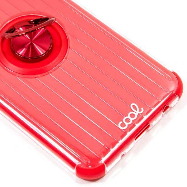 Carcasa Samsung Galaxy Note 10 Plus Hard Anilla Rojo 2