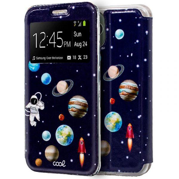 Funda Con Tapa iPhone 11 Pro Max Dibujos Astronauta 1