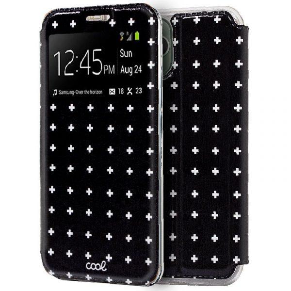 funda flip cover iphone 11 pro max dibujos cruces1