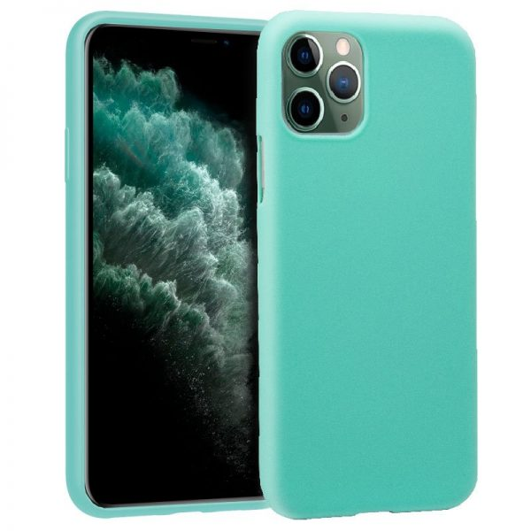 Funda Silicona iPhone 11 Pro Max (Mint) 1