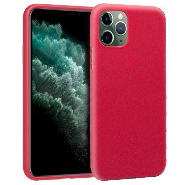 Funda Silicona iPhone 11 Pro Max (Rojo) 1