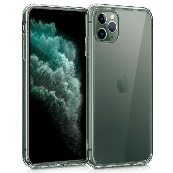 Funda Silicona iPhone 11 Pro Max (Transparente) 1