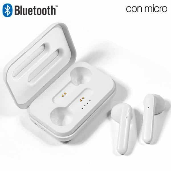 Auriculares Stereo Bluetooth Dual Pod COOL STYLE Blanco 1