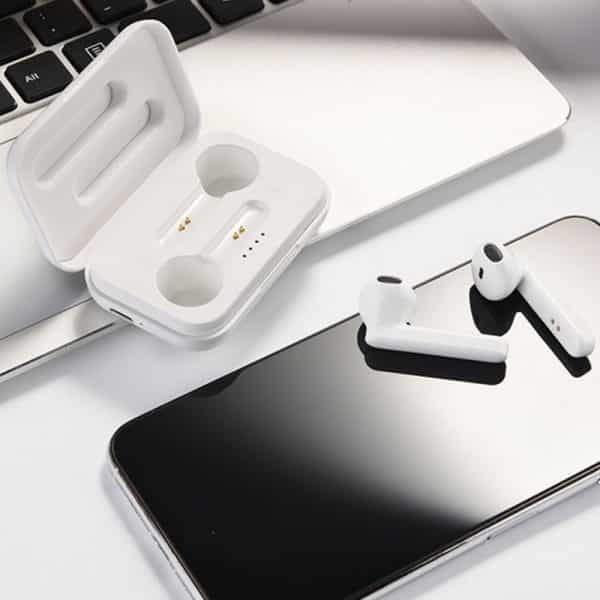 Auriculares Stereo Bluetooth Dual Pod COOL STYLE Blanco 4