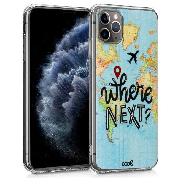 Carcasa iPhone 11 Pro Dibujos Travel 1