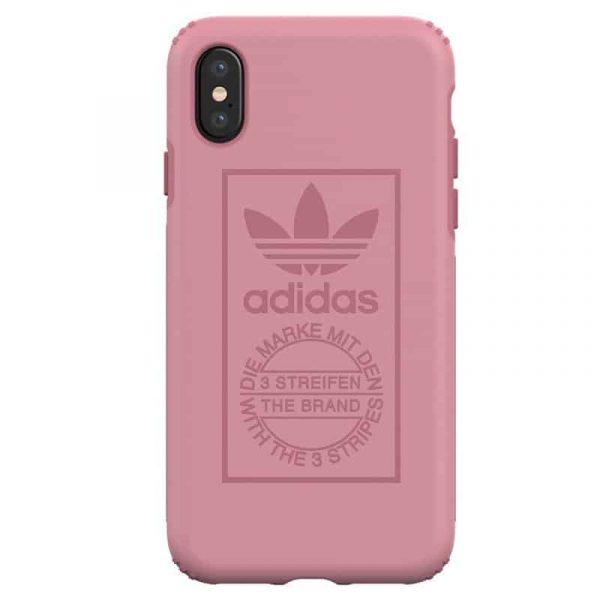 Carcasa iPhone X / iPhone XS Licencia Adidas Hard Rosa 2