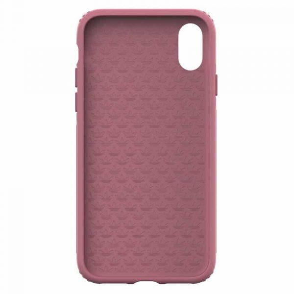 Carcasa iPhone X / iPhone XS Licencia Adidas Hard Rosa 4