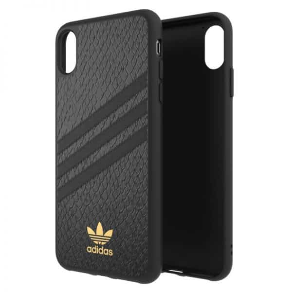 Carcasa iPhone XS Max Licencia Adidas Logo Dorado 2