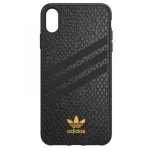 Carcasa iPhone XS Max Licencia Adidas Logo Dorado 7