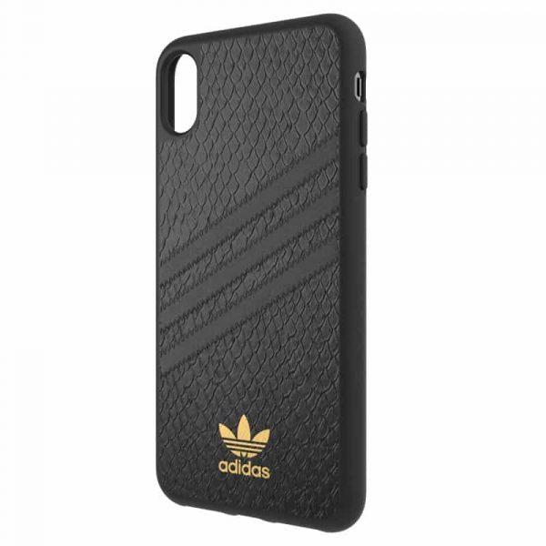 Carcasa iPhone XS Max Licencia Adidas Logo Dorado 3