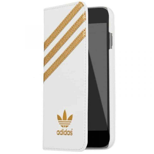 funda flip cover iphone 6 6s licencia adidas blanco1